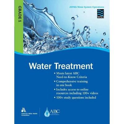 Wso Water Treatment, Grade 1 - by  Awwa (Paperback)