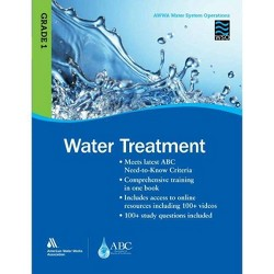 Wso Water Treatment, Grade 1 - by  Awwa (Paperback)