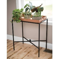 Essex Butler's Tray Plant Stand - Gardener's Supply Company