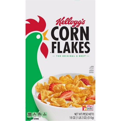 Breakfast Cereal: Kellogg's Corn Flakes