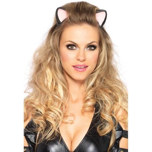Leg Avenue Latex Kitty Ear Headband - image 1 of 2