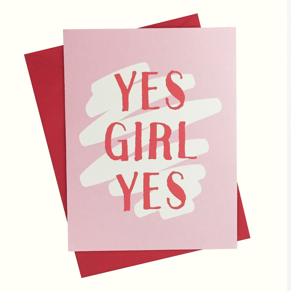 """Image of """"4.25""""""""x5.5"""""""" 10ct Yes Girl Yes - Paper Riot"""""""