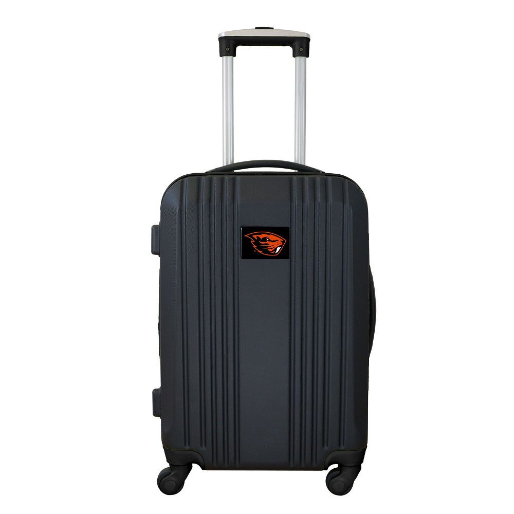 NCAA Oregon State Beavers 21 Hardcase Two-Tone Spinner Carry On Suitcase