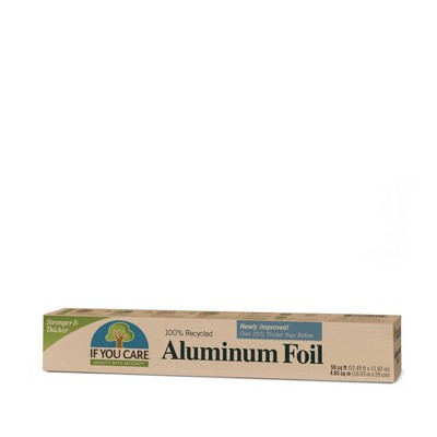 Aluminum Foil: If You Care