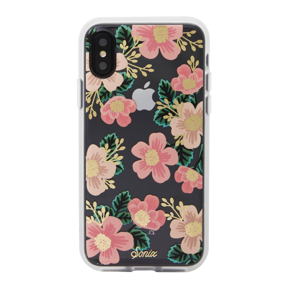 Sonix Apple iPhone XS Max Clear Coat Case - Southern Floral