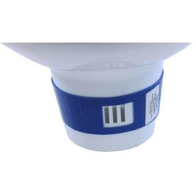 Intex 15 Foot Easy Set Swimming Pool Debris Cover & Floating Chlorine Dispenser