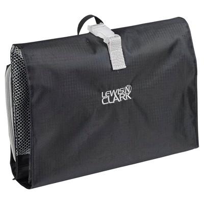 Lewis N. Clark® Hanging Toiletry Kit (Black)