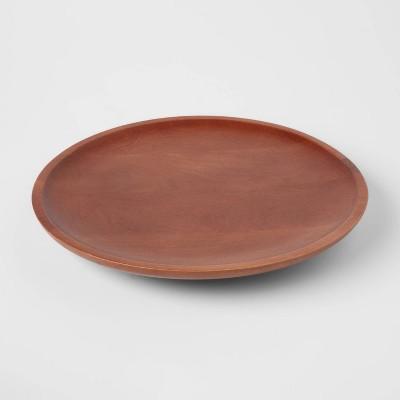 "13.5"" Wood Signature Round Lazy Susan - Threshold™"