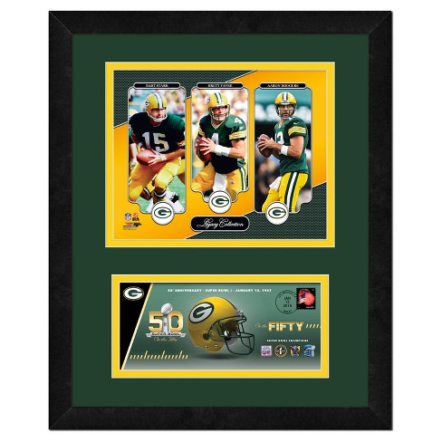 """NFL Commemorative On The 50th Super Bowl - 14X18"""" Framed Photo - image 1 of 1"""