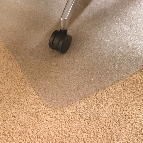 Advantage Mat Chair Mat For Low Pile Carpets Phthalate Free Pvc Rectangular 48x60 Cleartex Target