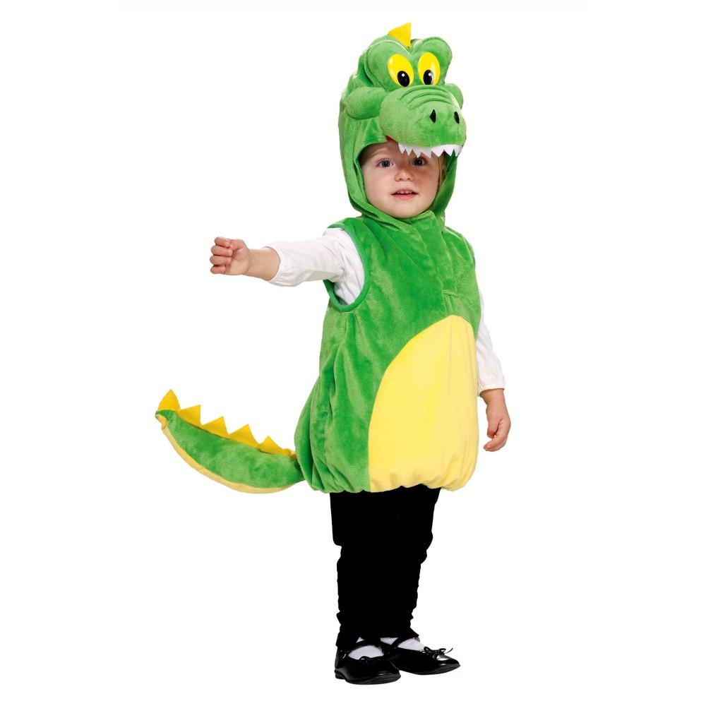 Toddler Crocodile Costume 2T-4T, Toddler Unisex