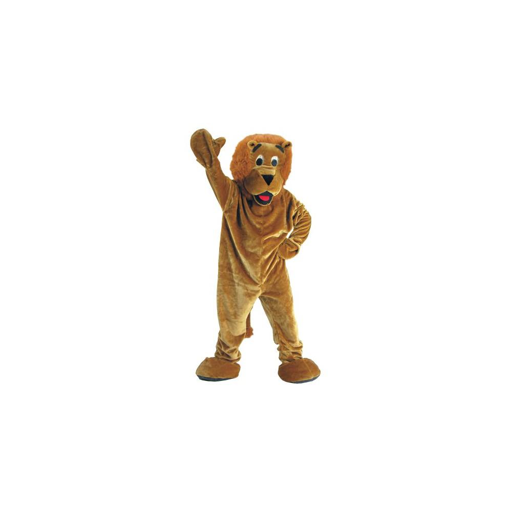 Adult Roaring Lion Mascot Costume, Adult Unisex