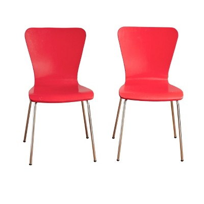 Set of 2 Pisa Bentwood Chairs - Buylateral