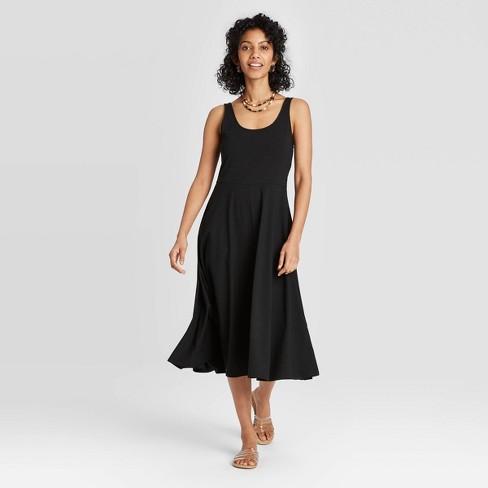 Women's Sleeveless Ballet Dress - A New Day™ - image 1 of 4