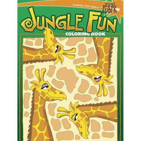Jungle Fun Coloring Book - by  John Kurtz (Paperback) - image 1 of 1