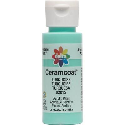Delta Ceramcoat Acrylic Paint (2oz) - Turquoise