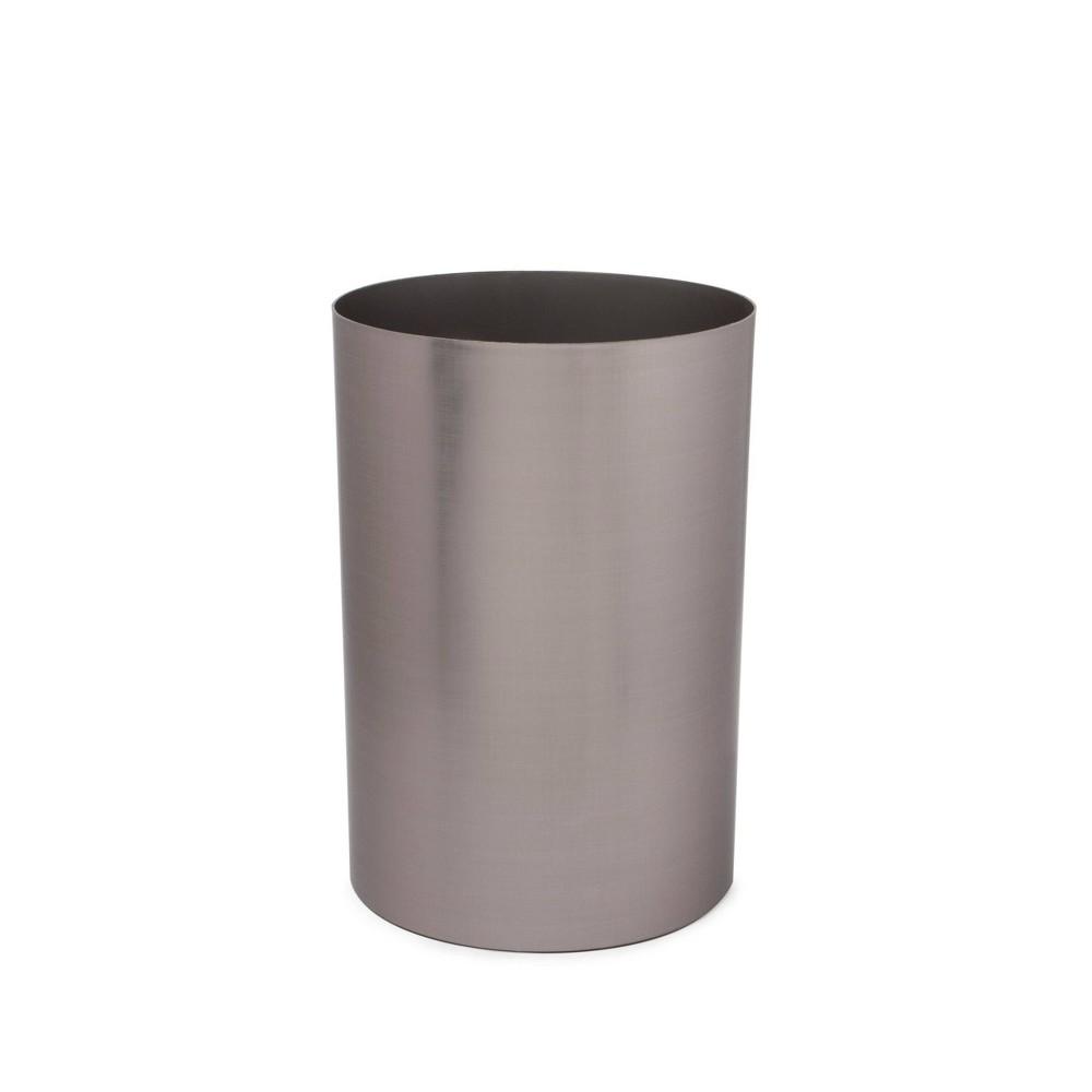 Umbra 4 75gal Metalla Indoor Trash Can Gun Metal