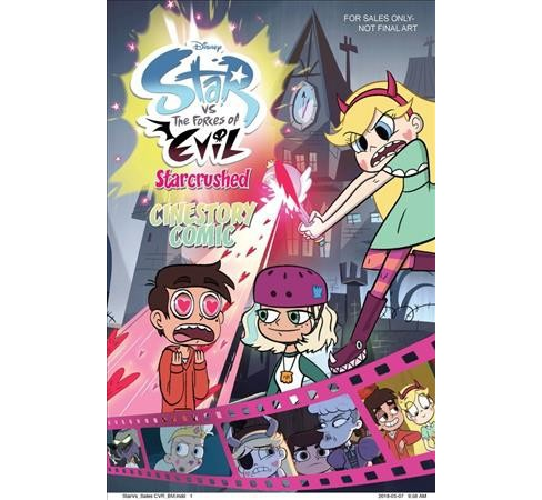 Disney Star Vs the Forces of Evil Starcrushed Cinestory Comic -  (Paperback) - image 1 of 1