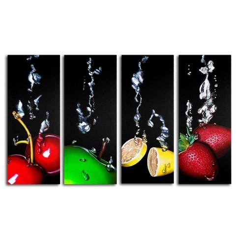 4pc Granny Splash by Roderick Stevens - Trademark Fine Art - image 1 of 2