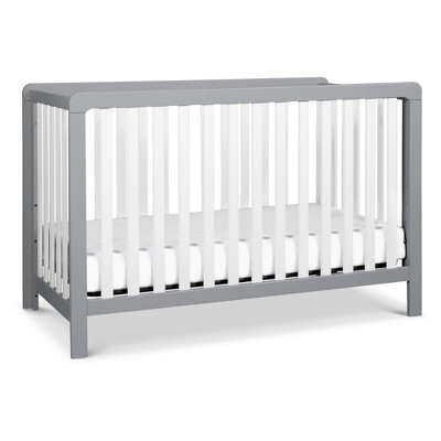 Carter's by DaVinci Colby 4-in-1 Convertible Crib - Gray and White