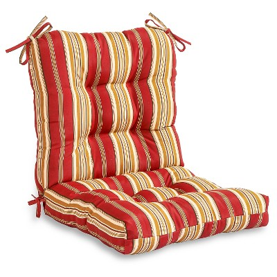 Outdoor Seat and Back Combo Cushion - Kensington Garden