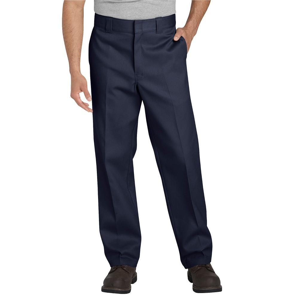 Dickies Men's 874 Flex Straight Fit Work Pants - Navy (Blue) 34x30