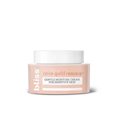 Bliss Rose Gold Rescue Gentle Moisture Cream For Sensitive Skin - 1.5 fl oz