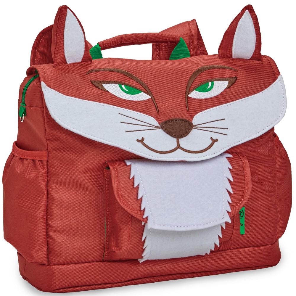 "Image of ""Bixbee 10"""" Kids' Fox Backpack - Rusty Red, Kids Unisex"""
