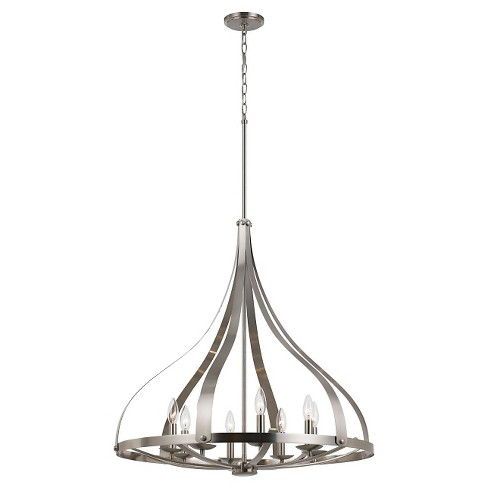 Cal Lighting Meridian Modern 8 light Chandelier - image 1 of 1