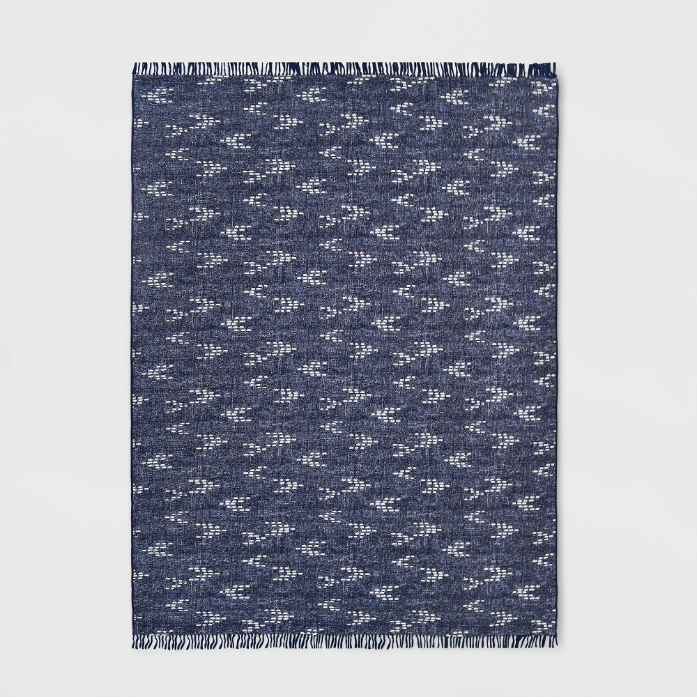 9 X 12 Staccato Outdoor Rug Navy Threshold 8482