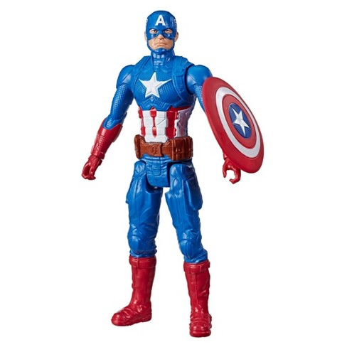 Marvel Avengers Titan Hero Series Blast Gear Captain America Action Figure - image 1 of 4