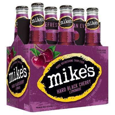 Mike's Hard Black Cherry Lemonade - 6pk/11.2 fl oz Bottles