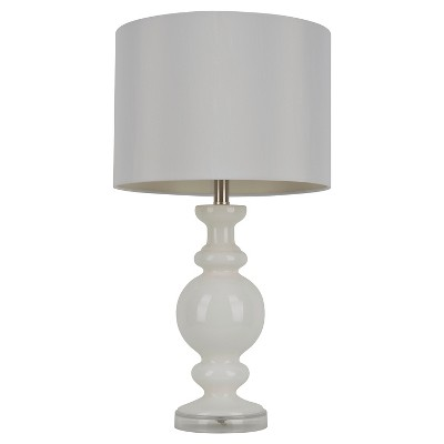 "J. Hunt Milk Glass Table Lamp   White (27"") by Shop This Collection"