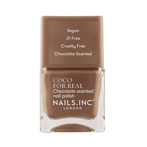 Nails.INC Coco For Real Chocolate Scented Nail Polish - 4.6 fl oz - image 1 of 4