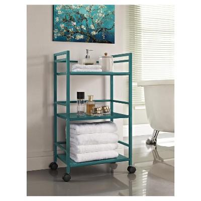 Trinity 3 Shelf Metal Rolling Utility Cart - Room & Joy : Target