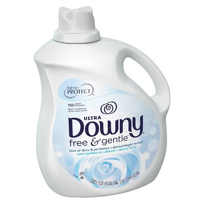 Ultra Downy Free & Gentle Liquid Fabric Softener - 129oz