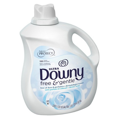 Ultra Downy Free & Gentle Liquid Fabric Softener - 129oz - image 1 of 2