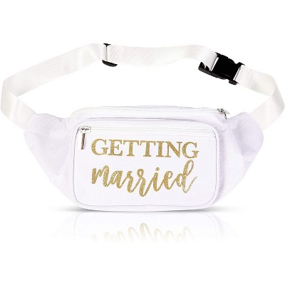 Getting Married Fanny Pack for Bridal Shower, Bachelorette