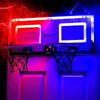 Deals on 2-Pcs Franklin Sports Pro Hoops LED with Basketball