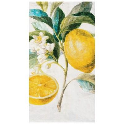 C&F Home Citrus Stripe Woven Cotton Kitchen Towel