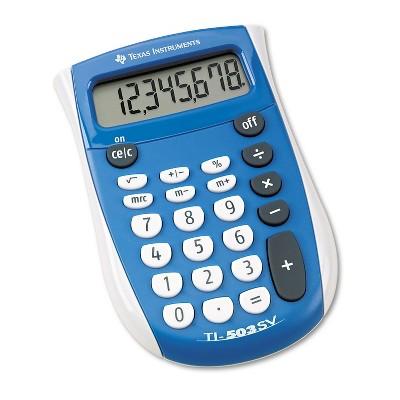 Texas Instruments TI-503SV Pocket Calculator 8-Digit LCD TI503SV
