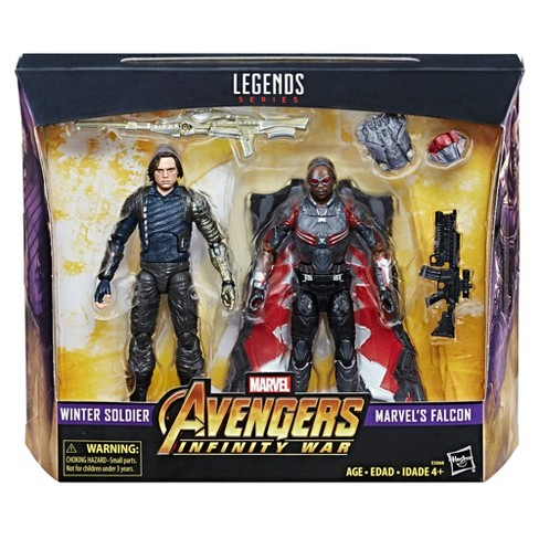 marvel legends series avengers infinity war winter soldier falcon