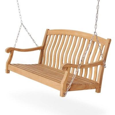 Sherwood Teak Porch Swing - Cambridge Casual