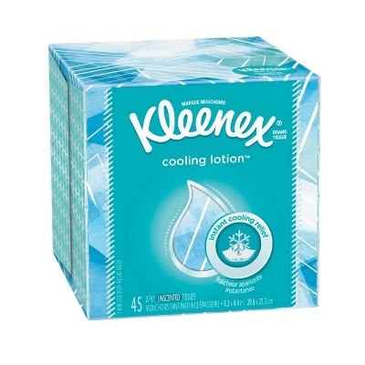 Tissues: Kleenex Cool Touch