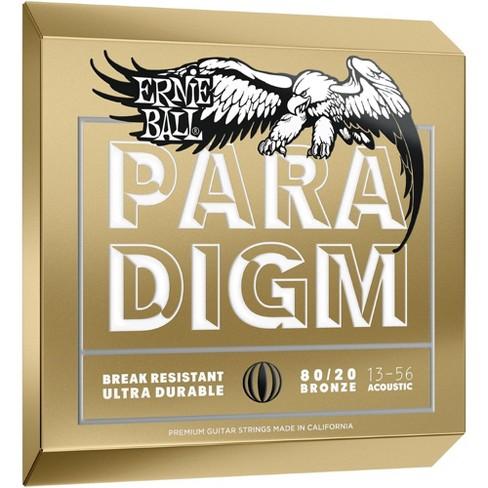 4f96783f35f Ernie Ball Paradigm 80 20 Acoustic Guitar Strings Medium   Target
