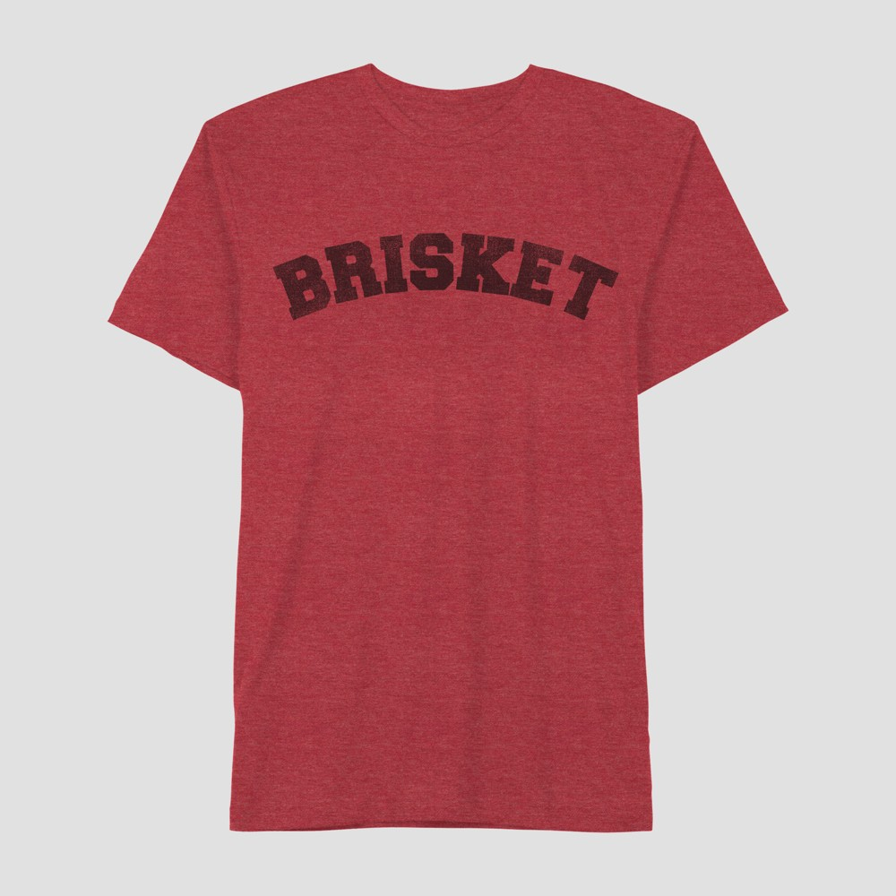 Men's Short Sleeve Brisket Graphic T-Shirt - Awake Red M