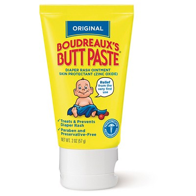 Boudreaux's Paste Diaper Rash Ointment - 2oz