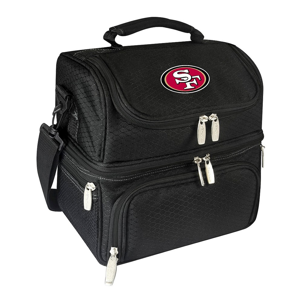San Francisco 49ers Pranzo Lunch Tote By Picnic Time Black