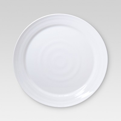17.8in Melamine White Round Platter - Threshold™