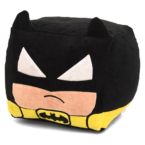 Awesome Batman Cube Bean Pouf Black Batman Download Free Architecture Designs Scobabritishbridgeorg